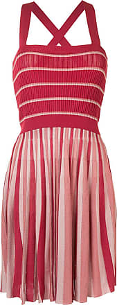 Alexis Lintov striped mini dress - Red