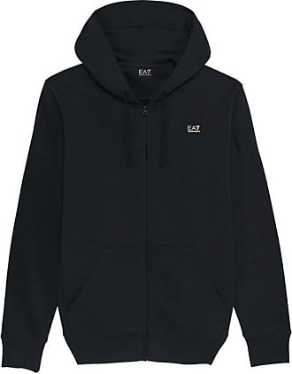 Emporio Armani Ea 7 New Badge Zip Hood Navy - Large