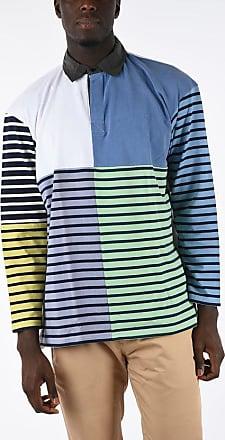 J.W.Anderson Striped Long Sleeve Polo Größe M