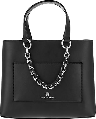 Michael Kors Tote - Cece Messenger Bag Black - black - Tote for ladies