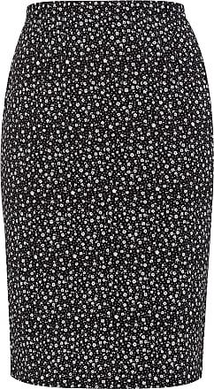 Yours Clothing Clothing Womens Plus Size Midi Tube Skirt Size 30-32 Black
