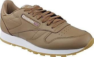 Multicolore FG Camel de Fitness Homme White Mu Soft Chaussures EU 46 Reebok Cl Leather 0 vn8q0f0