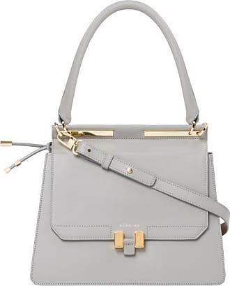 Maison Héroïne Handtasche Damen, Marlene Tablet, Grey