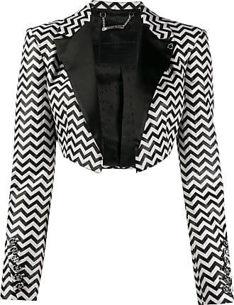 Philipp Plein Bolero Rock cropped jacket - Black