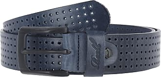 Reell Reell Punched Belt, Gürtel Herren, Ledergürtel für Männer