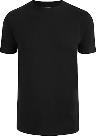 Jockey Modern Stretch Round Neck T-Shirt, Black, size 2XL