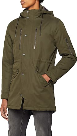 Only & Sons Mens Onsklaus Parka Winter Jacket Noos, Green (Forest Night Forest Night), XX-Large