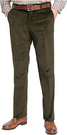 Franken & Cie. Corduroy trousers, olive