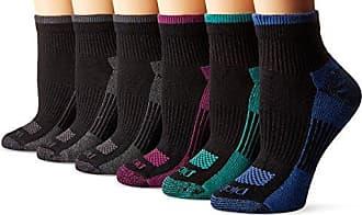 Dickies Dritech Advanced Moisture Wicking Crew Sock 6-pack Black Assort 1 9-11