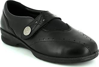 Padders 0359/10 Kirsten 2 EEEE Black Womens Comfort Shoes 4.5