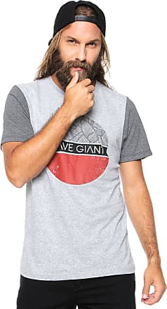Wave Giant Camiseta WG Palm Tree Cinza