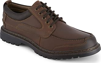 Dockers Dockers Mens Overton Leather Rugged Casual Oxford Shoe with NeverWet