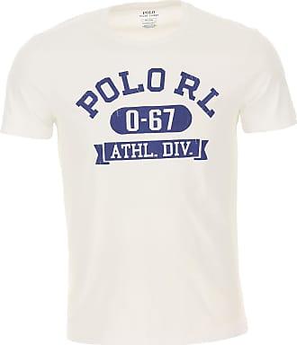 Ralph Lauren T-Shirt Uomo On Sale, Bianco, Cotone, 2019, M S XXL