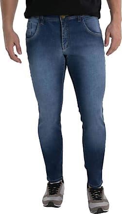 Eventual Calça Jeans Eventual Skinny Azul 38