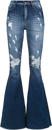 8f57051867 Amapô Calça jeans super flare Maine - Azul