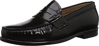 G.H. Bass & Co. Mens Wagner Loafer, Black, 12 M US