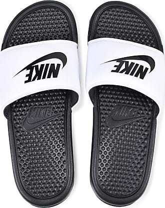 Nike Chinelo Nike Benassi Just Do It Masculino - Preto/Branco