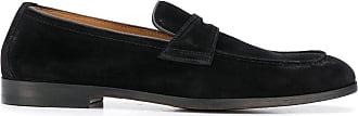 Doucal's Loafer mit mandelförmiger Kappe - Schwarz