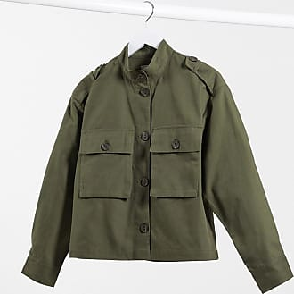 Pimkie lightweight jacket in khaki-Green