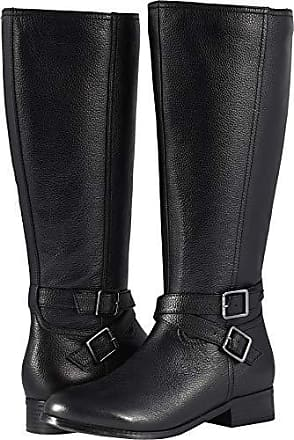 e888ed3edf9d Trotters Womens Liberty Wide Calf Fashion Boot Black 7.5 M US