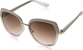 Jessica Simpson Womens J5660 Ndrs Non-Polarized Iridium Round Sunglasses, Nude Rose Gold, 60 mm