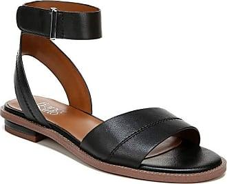 Franco Sarto Womens Maxine Flat Sandal, Black, 4.5 UK