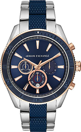A|X Armani Exchange Relógio Quartz Enzo - Homem - Prateado - Único IT