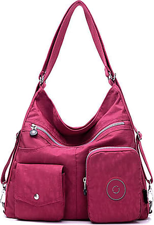 GFM Nylon Two in One Combo Bag - Shoulder Bag and Backpack (S1-7005-GHFSH)