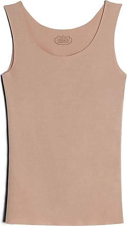 intimissimi Womens Raw-Edge Round-Neck Supima Cotton Vest Top