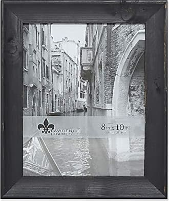 Lawrence Frames 8x10 Whitney Black Wood Picture Frame