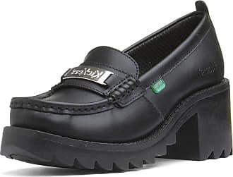 Kickers Womens Klio Loafer, Black (Black Blk), 2.5 (36 EU)