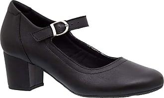 Doctor Shoes Antistaffa Sapato Feminino 287 em Couro Preto Doctor Shoes-Preto-40