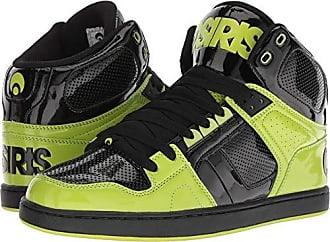 73fd937bfa2 Osiris Mens NYC 83 CLK Skate Shoe, Black/Lime, 5.5 M US