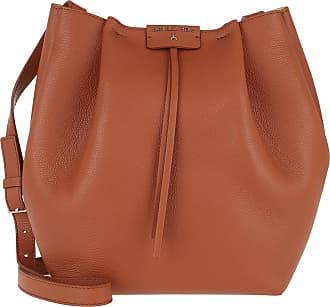 Patrizia Pepe Cross Body Bags - Pepe City Bucket Bag Canyon Brown - cognac - Cross Body Bags for ladies