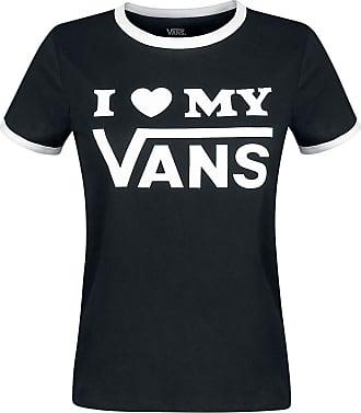 167d95373a9 Vans Vans Love Ringer - Dam-T-shirt - svart|vit