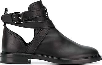 Casadei crossover straps ankle boots - Black