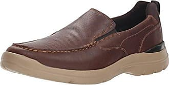 Rockport Mens City Edge Slip On Shoe, boston tan leather, 9 M US