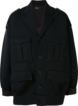 Kolor oversized multi-pocket jacket - Black