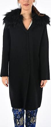Ermanno Scervino Real Fur Details Coat Größe 42