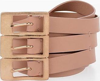 Maison Margiela MM11 60mm Leather Belt Größe M