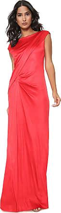 Iodice Vestido Iodice Longo Liane Vermelho