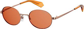 Polaroid Unisex Adults PLD 6066/S Sunglasses, Multicolour (Gd Orange), 51