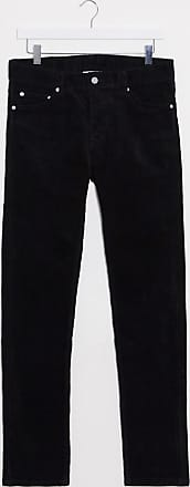 Weekday Friday corduroy trousers-Black