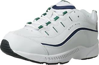 Easy Spirit Womens Romy Sneaker, White Multi, 10 X-Wide