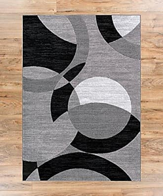 Well Woven 19483 Feather Modern Area Rug, 27 x 311, Grey