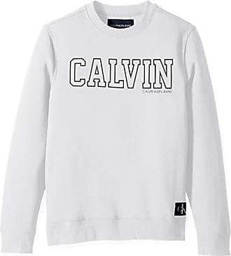 64b34b872050 Calvin Klein Jeans Mens Crew Neck Sweatshirt with Tonal Rib Tipping