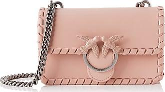 Pinko Mini Love Twist 1 Womens Cross-Body Bag, Pink (Light Pink), 4x14x24 centimeters (W x H x L)