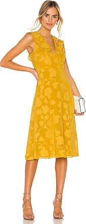 Joie Adella Dress in Mustard