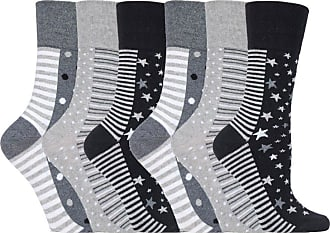 SockShop 3 or 6 Pairs of SockShop Everyday Gentle Grip Socks See Listing Ladies Shoe Size UK 4-8, EUR 37-42 BRAND NEW DESIGNS See Listing (6 x RH99)