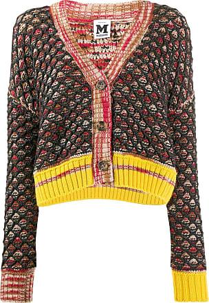 M Missoni chunky knit cardigan - Preto